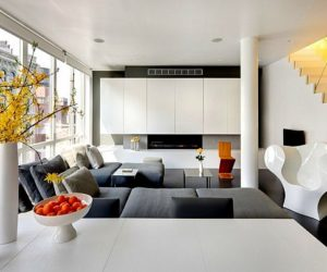 Modern urban penthouse in Chelsea