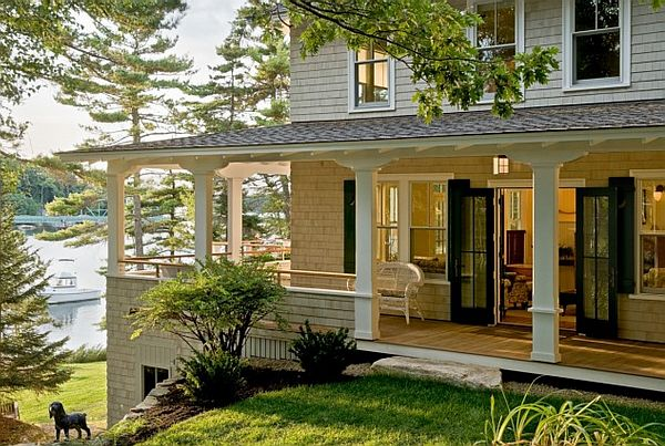 Four beautiful porches design ideas for Ideas for covered back porch on single story ranch