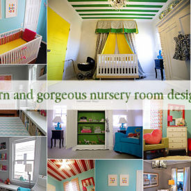 6 Modern and gorgeous nursery room design ideas