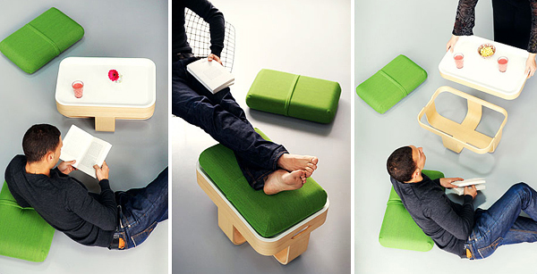 Multifunctional T Furniture By Antoine Lesur Nice Look