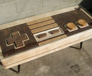 Perfect Multifunctional Nintendo Controller Coffee Table