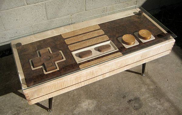 Multifunctional Nintendo Controller Coffee Table - Buc-multifunction-coffee-table-by-discoh