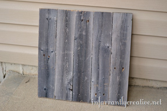 How To Make Pallet Wall Art To Personalize Your Home With