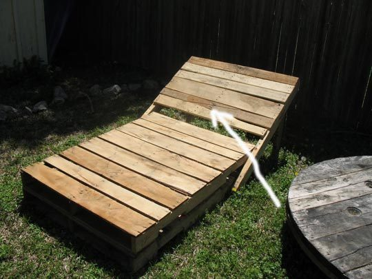 Outdoor Lounge From Pallets. Part 70