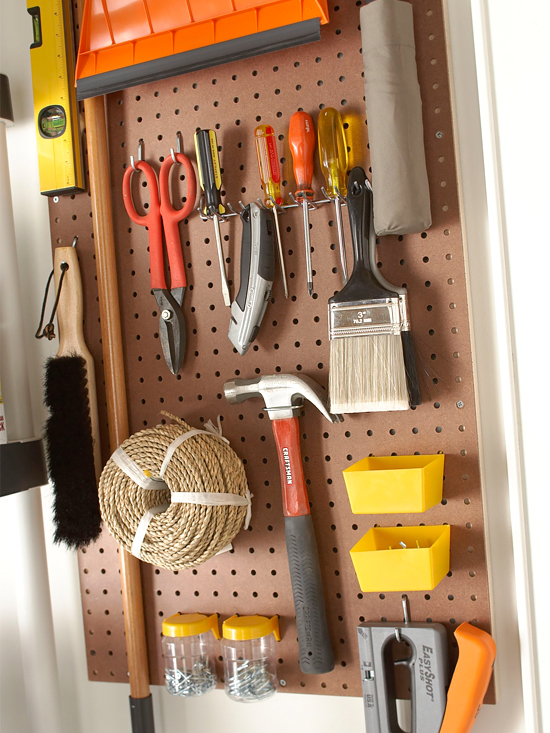 Garage Peg boards