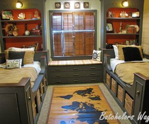 Pirate room decor for kids