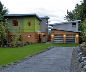 Single family prefab home located in Kirkland