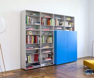 The Quaro shelf unit by Hertel & Klarhoefer