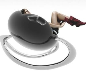 The futuristic Bangulella rocking chair
