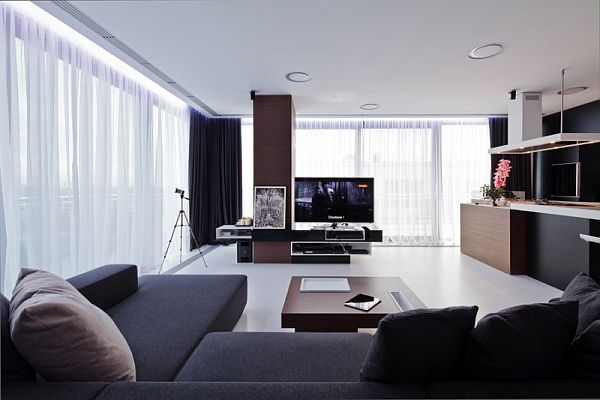 Modern Apartment Interior Design In Romania