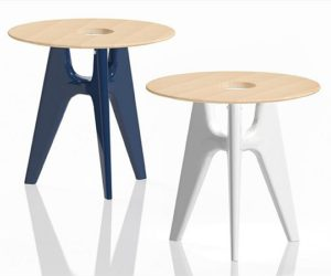 Round Notre-Dame coffee table