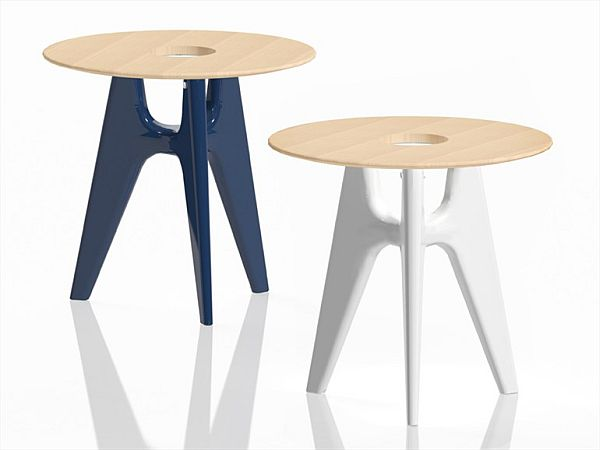 Round Notre Dame Coffee Table