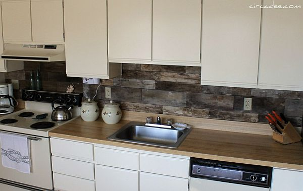 Top DIY Kitchen Backsplash Ideas - Cheap diy rustic kitchen backsplash