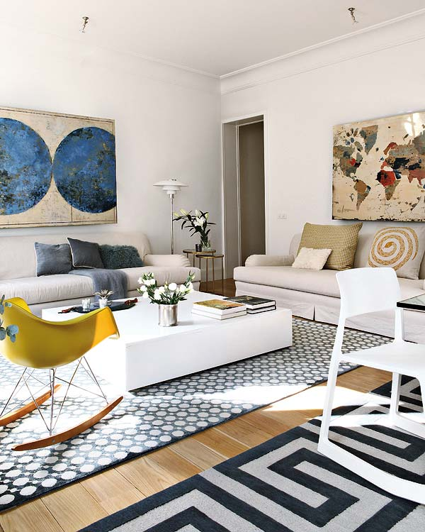 Open E Apartment Interior Design In