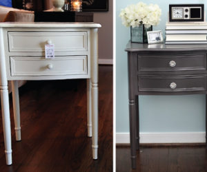 How To Beautify Your Bedroom Nightstands Using Paint