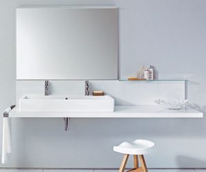 The Minimalist Delos Washbasin Top By Eoos The Minimalist Delos Washbasin  Top By Eoos · Another Gold Finishes Washbasin Unit From Legnobagno