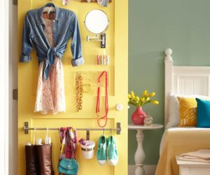 How To Save Space With Door-Mounted Storage