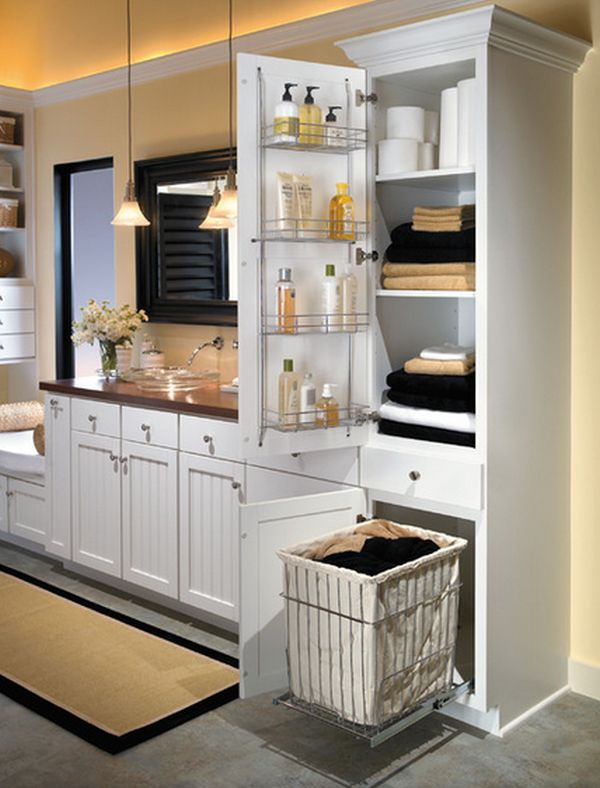 How To Save Space With Door Mounted Storage