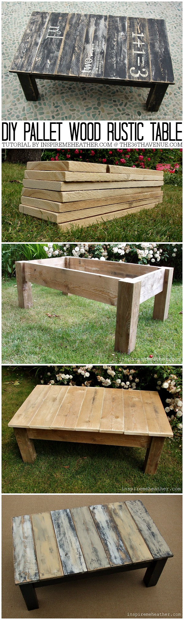 small pallet coffee table for kids