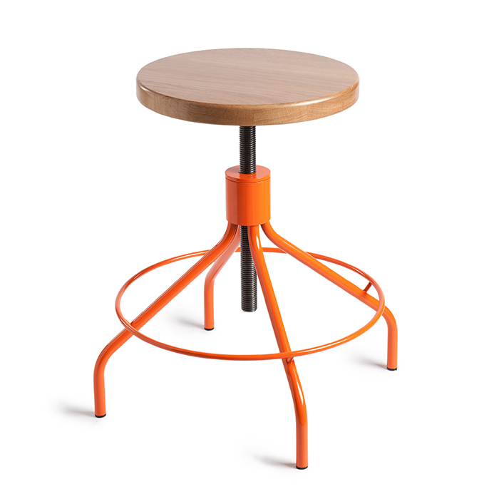 Attractive The Stool Was Designed By Fred Frety And Looks Incredibly Cool And Still  Contemporary, Even Though It Somehow Combines A Retro Look With A Modern  Design.