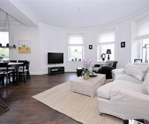 Charming white house in Stockholm