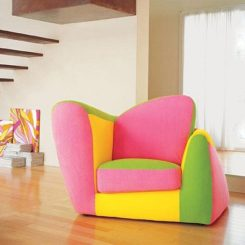 Colorful Symbol Armchair