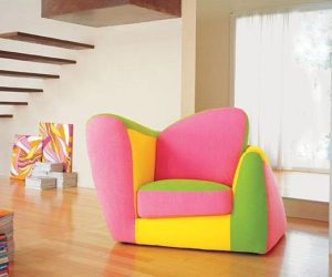 Wonderful Colorful And Stylish Armchair · Colorful Symbol Armchair