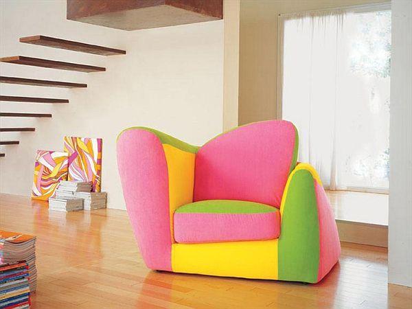Colorful symbol armchair - Poltrone moderne design ...