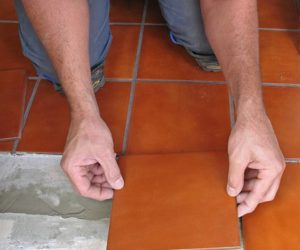 How to tile the floor by yourself