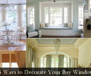 5 Ways to Decorate Your Bay Window