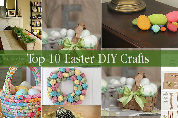 Top 10 easter diy crafts for Diy easter decorations home