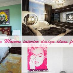Marilyn Monroe Interior Design Ideas For Lovers Nice Ideas