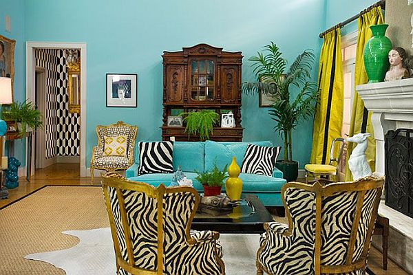 turquoise vibrant interior design from jill sorensen rh homedit com turquoise interior design ideas turquoise interior design concept