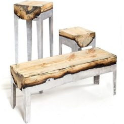 Ebano Furniture Bathroom With Wood Effect - Ebano-furniture-bathroom-with-wood-effect