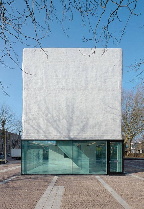 An economic and industrial design for a youth center in for Industrial design amsterdam