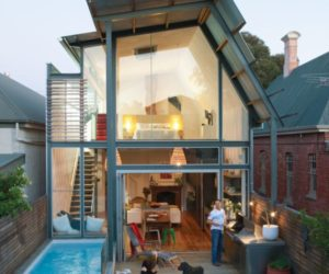 1880 Australian bungalow with a modern addition and lap pool