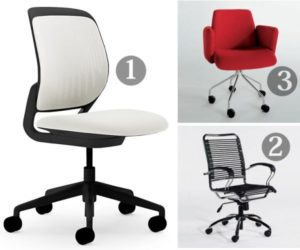 Three conference chairs we like