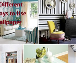 5 Different Ways to Use Wallpaper
