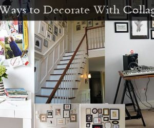 5 Ways to Decorate With Collages