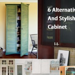Wonderful 6 Alternative And Stylish Cabinet Doors Nice Design
