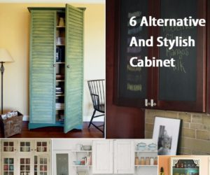 6 Alternative And Stylish Cabinet Doors