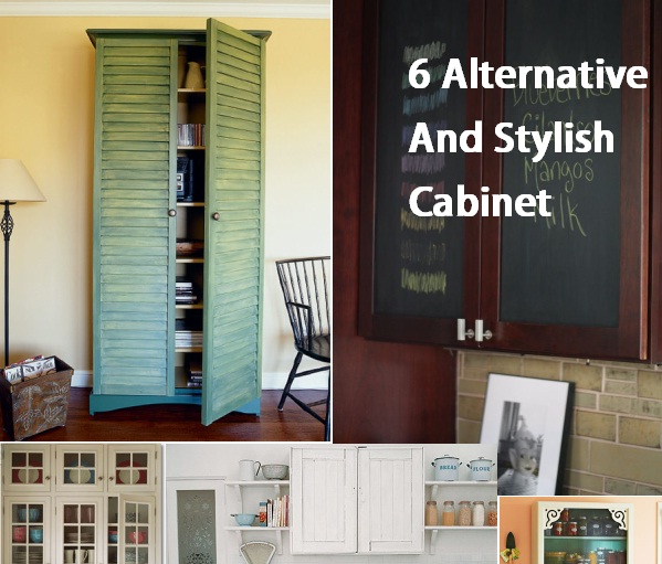 kitchen cabinet alternatives.  6 Alternative And Stylish Cabinet Doors