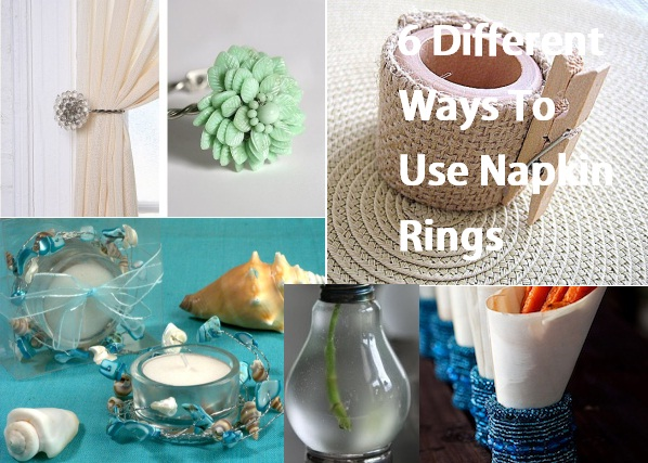 6 Different Ways To Use Napkin Rings : 6 Different Ways To Use Napkin Rings from www.homedit.com size 598 x 427 jpeg 115kB
