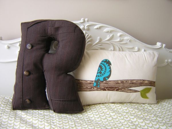 How To Make Alphabet Pillows For Customized Interiors