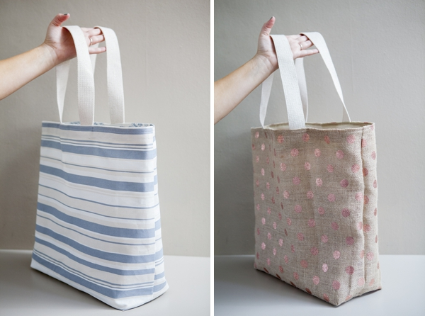 Beach tote bag diy