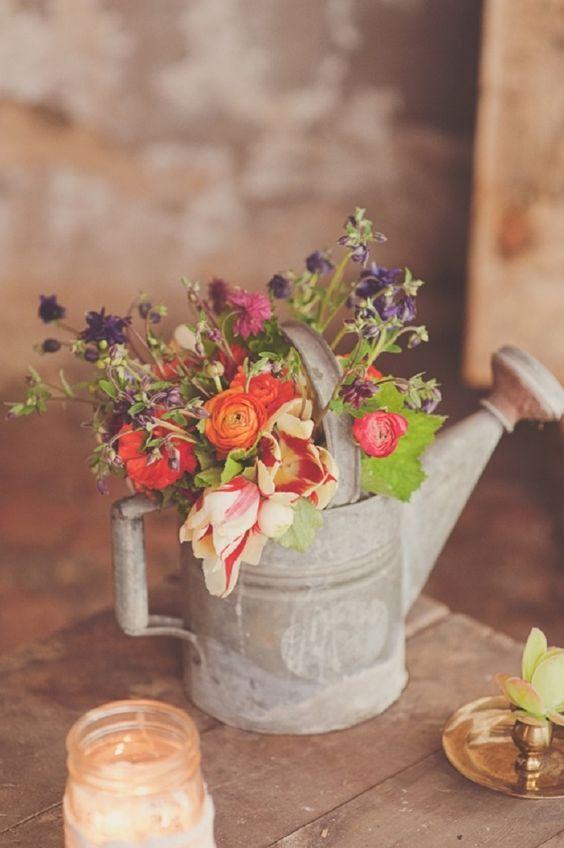 Beautiful vintage flower vase