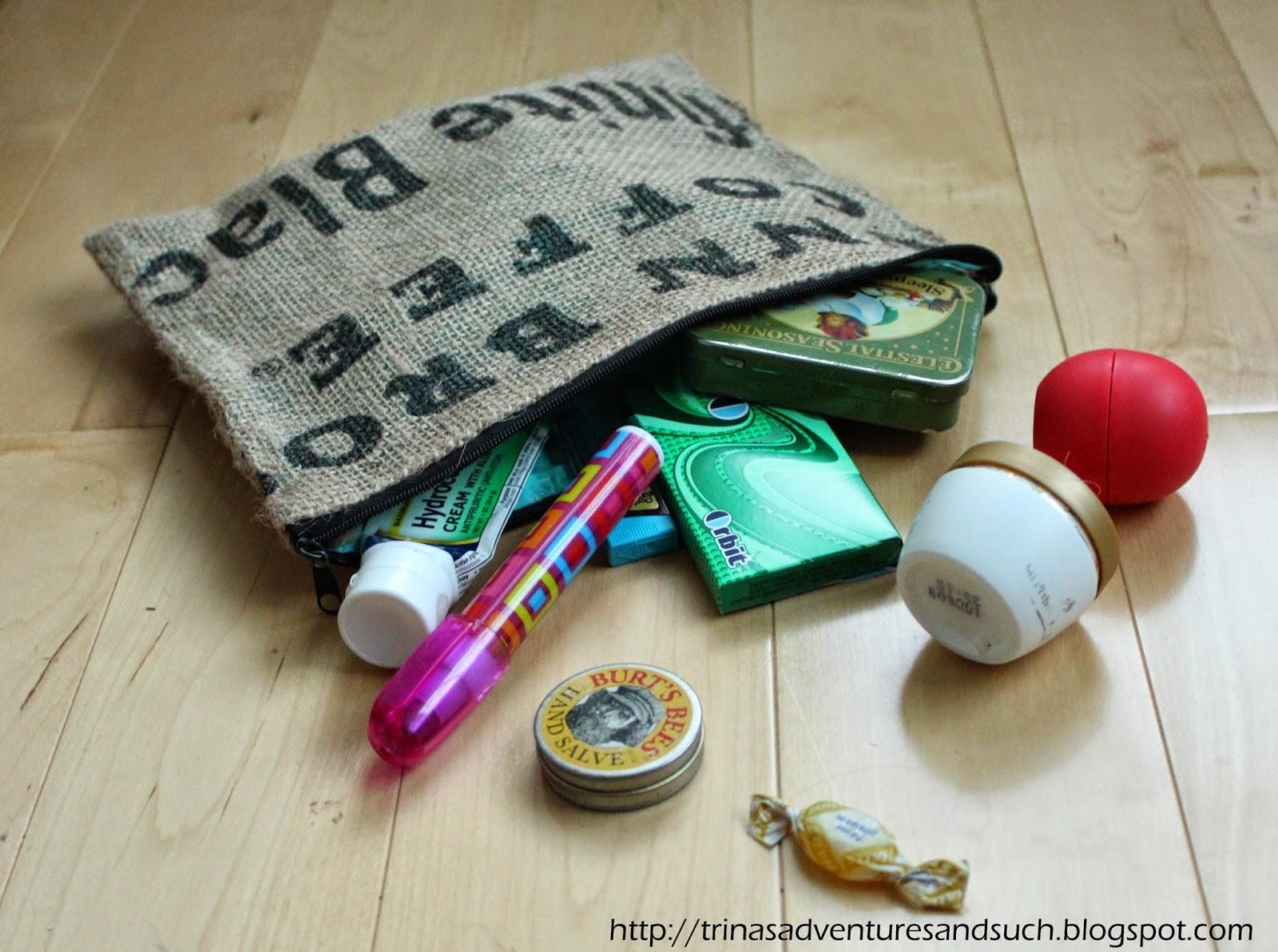 Bural purse pouch
