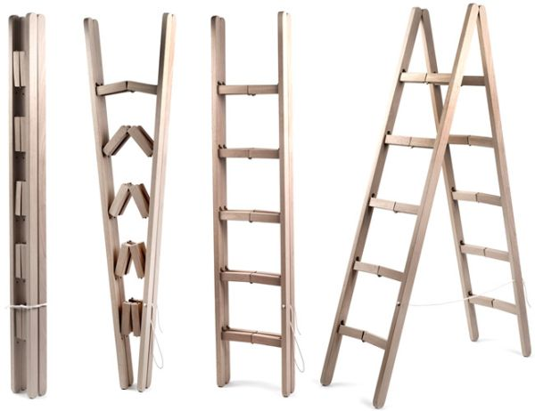 The Space Saving Ladder