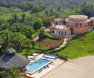 Cuixmala luxury resort into the middle of lush tropical forests
