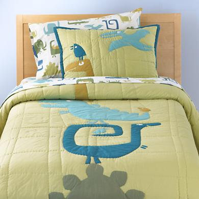 Boy Bedding with Dinosaurs